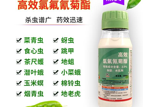 农药杀虫剂厂家 2.5% 功夫水乳剂