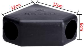 塑料毒饵盒 三角毒鼠屋